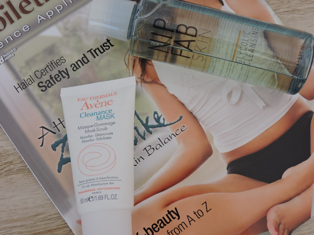 eau thermale avene products